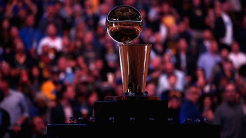 NBA Finalleri Larry O'Brien Trophy