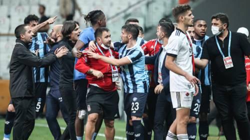 Beşiktaş Adana Demirspor olaylar