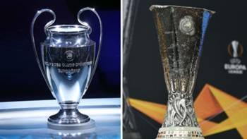 UEFA Şampiyonlar Ligi - UEFA Avrupa Ligi Kupa