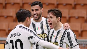 Juventus Gol Sevinci Chiesa 6 Ocak 2021
