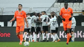 Beşiktaş gol sevinci vs Başakşehir