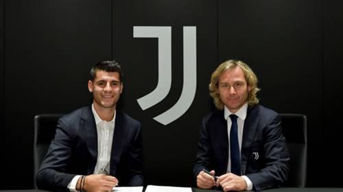 Alvaro Morata Juventus 2020