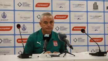 Rıza Çalımbay Sivasspor 4 Ağustos 2021