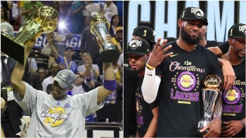 Kobe Bryant Lebron James Lakers 12102020