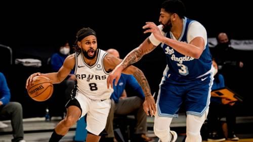 Spurs Lakers NBA