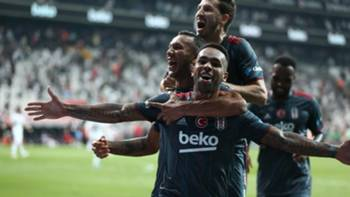 Alex Teixeira Beşiktaş Gol Sevinci 28 Ağustos 2021