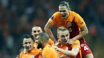 Galatasaray Gol Sevinci v Lazio