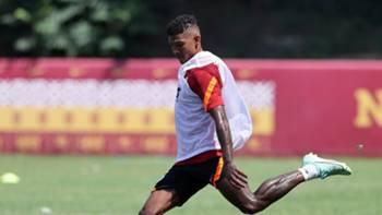 Patrick van Aanholt Galatasaray antrenman 29 Temmuz 2021