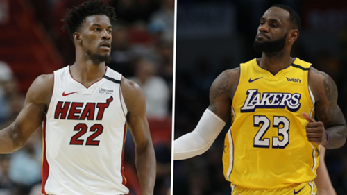 jimmy butler lebron james miami heat los angeles lakers 2020
