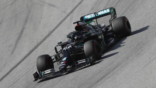 Lewis Hamilton Mercedes Avusturya 10072020