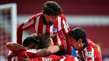 Atletico Madrid Gol Sevinci 16 Mayıs 2021