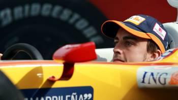 Fernando Alonso Renault 2009