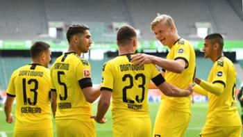 Dortmund gol sevinci 23052020