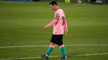 Lionel Messi Getafe Barcelona 10172020