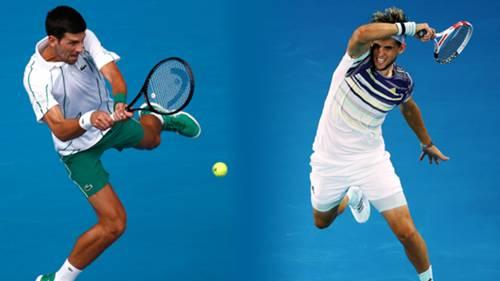 Novak Djokovic Dominic Thiem Kolaj