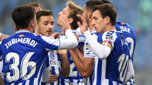 real sociedad gol sevinci getty 03102020