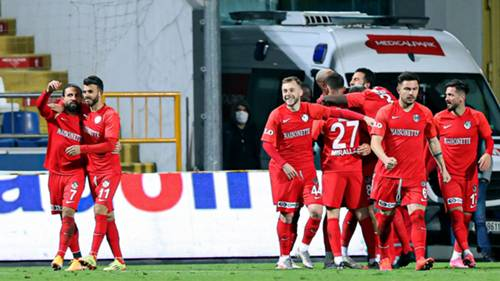 Gaziantep FK Gol Sevinci 12232020