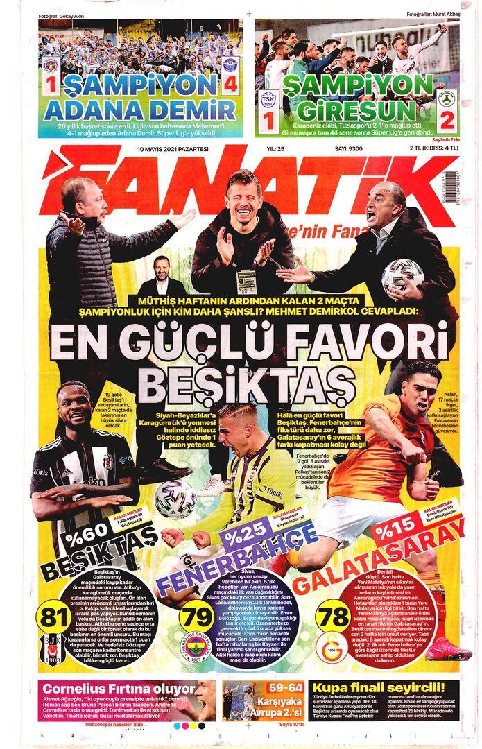 Fanatik 10Mayıs2021