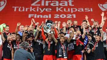 Beşiktaş Ziraat Türkiye Kupası Sevinci 2021
