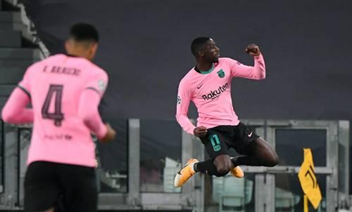 Ousmane Dembele Juventus Barcelona 10/28/20
