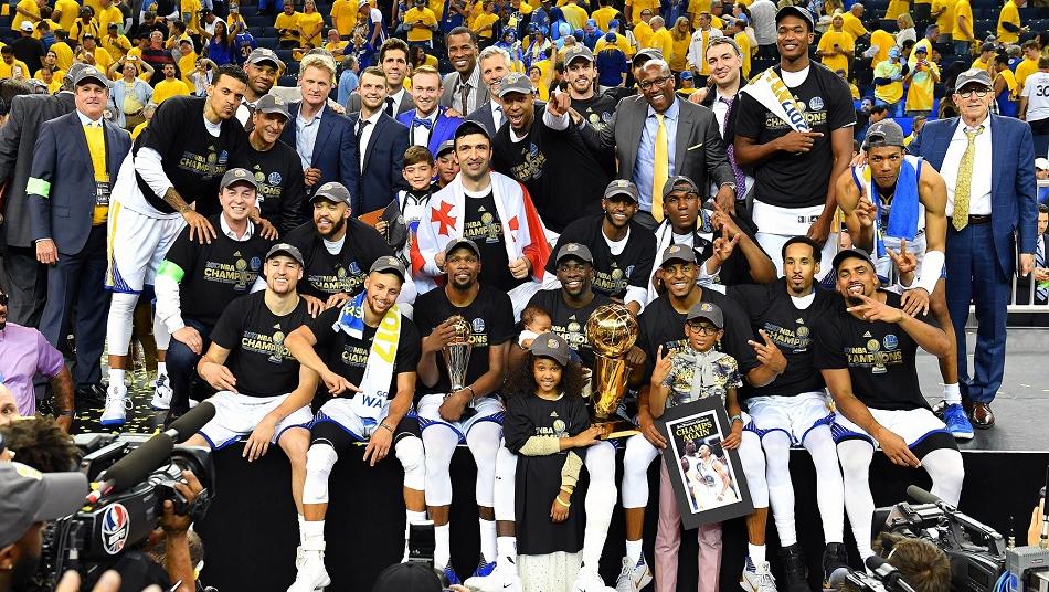 NBA Finals 2017 Warriors