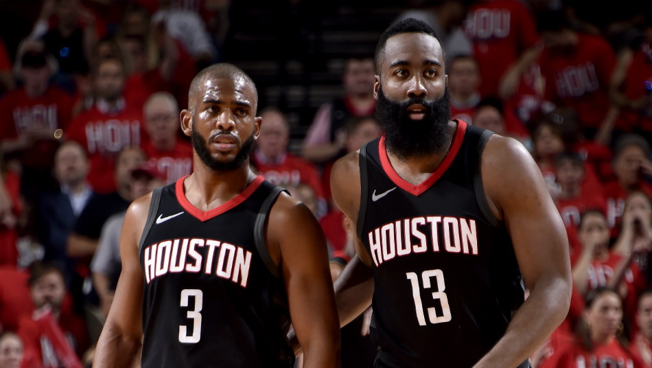 Chris Paul James Harden Houston Rockets