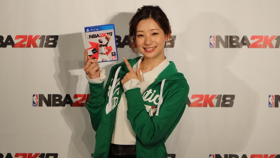 NBA 2K18 足立梨花 Rika Adachi