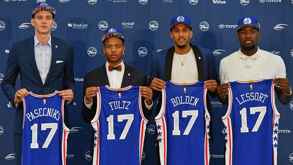 NBA Draft 2017 76ers