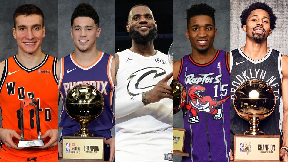 2018 NBA All-Star Champions