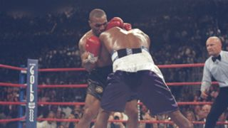 Mike Tyson and Evander Holyfield - cropped