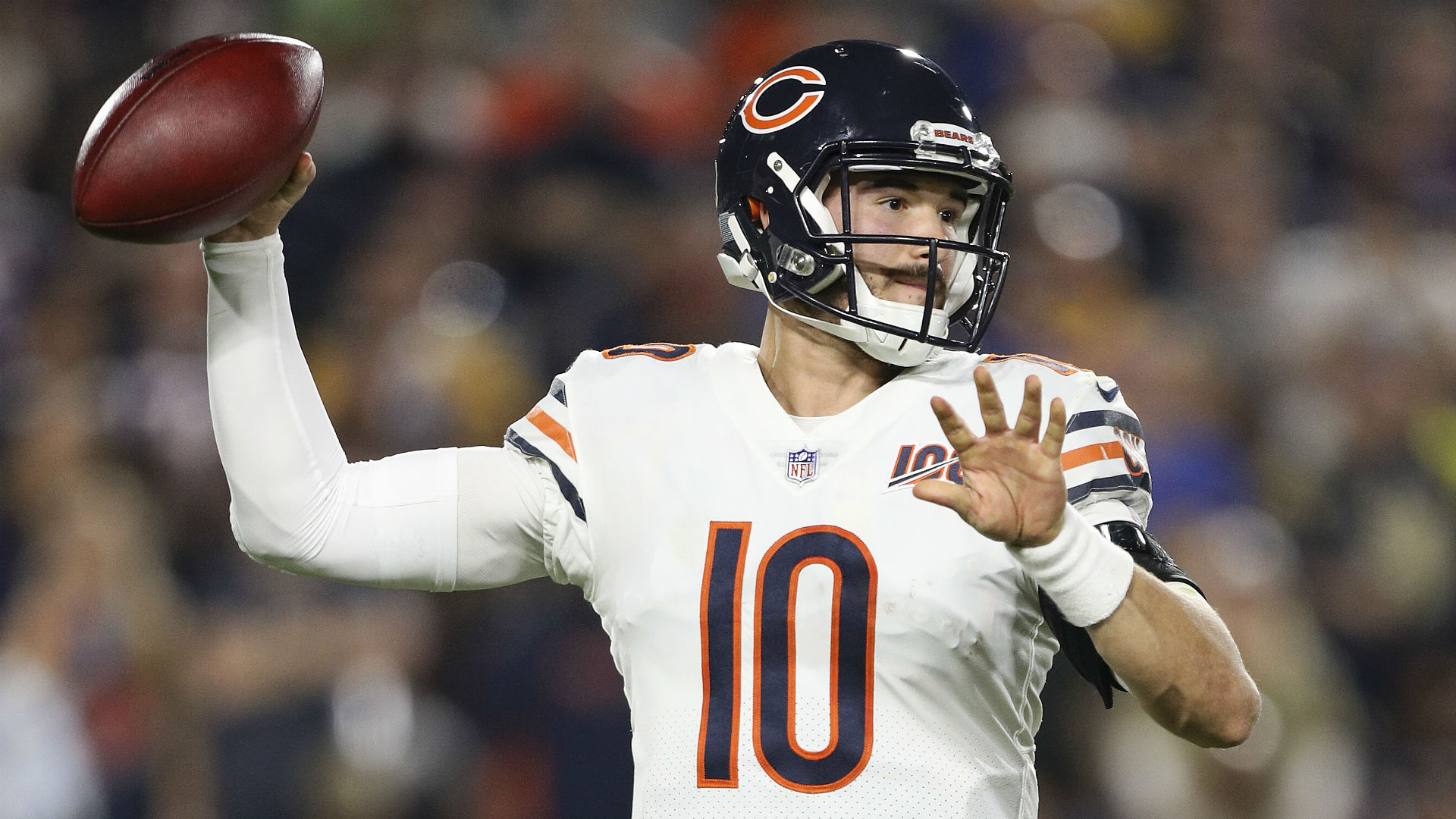 Mitchell Trubisky motivated by Bears bringing in Nick Foles: 'It's a business decision'
