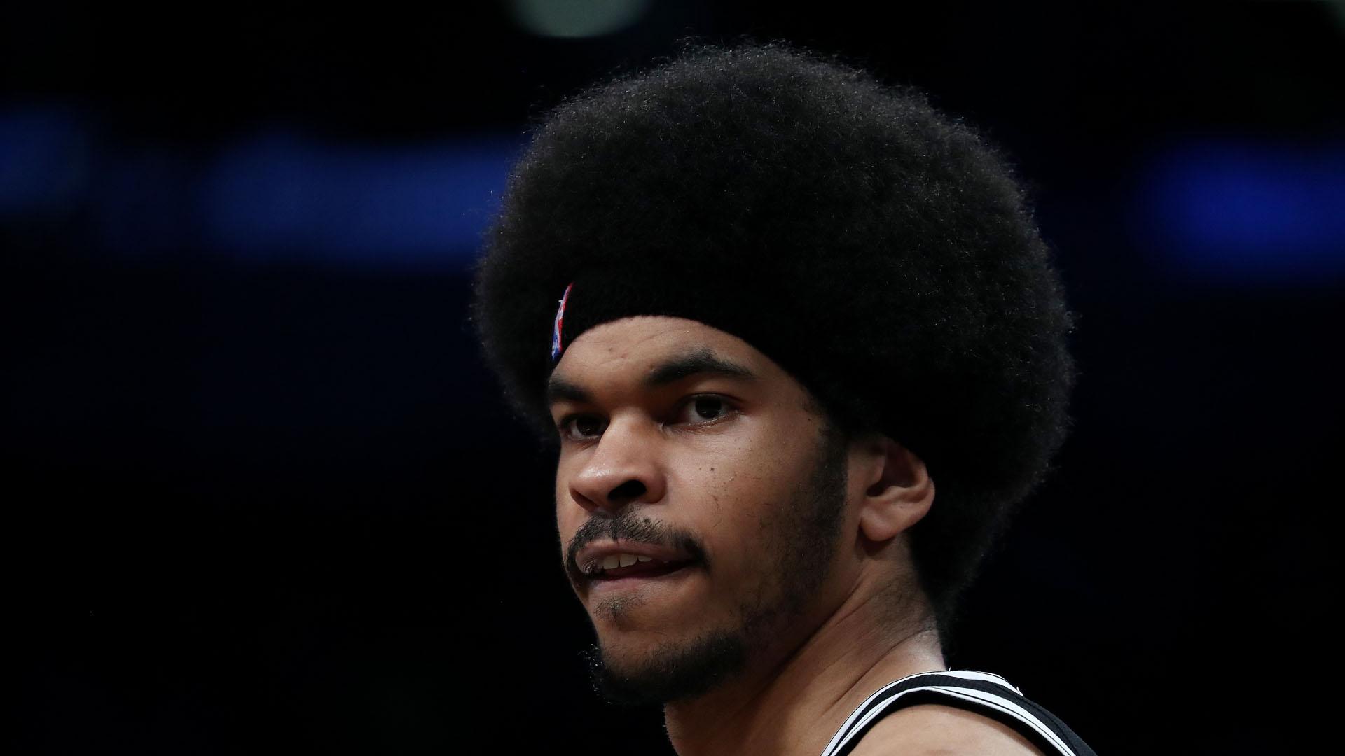 WATCH: Nets' Jarrett Allen blocks the ...
