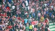 Croatia fans - cropped