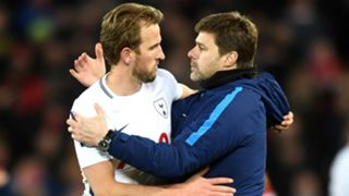 Mauricio Pochettino Harry Kane - cropped