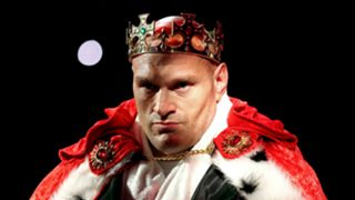 Tyson Fury - copped