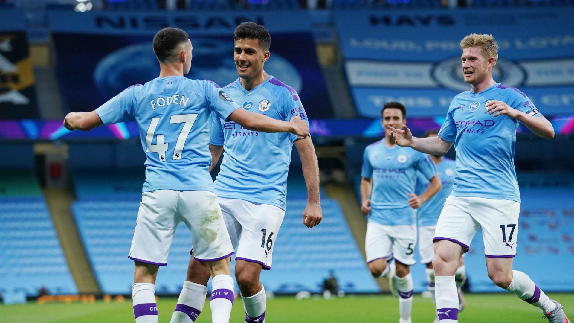 Manchester City V Liverpool Match Report 02 07 2020 Premier League Goal Com