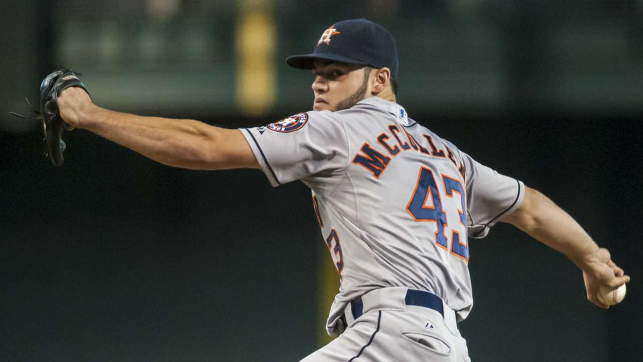 Astros P Lance McCullers