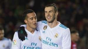 Lucas Vazquez and Gareth Bale