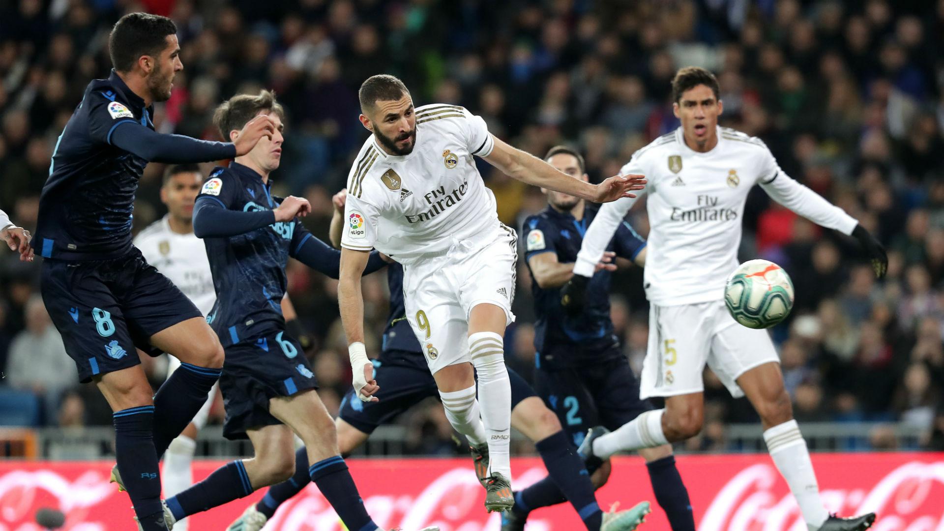 Real Madrid V Real Sociedad Match Report 23 11 2019 Primera