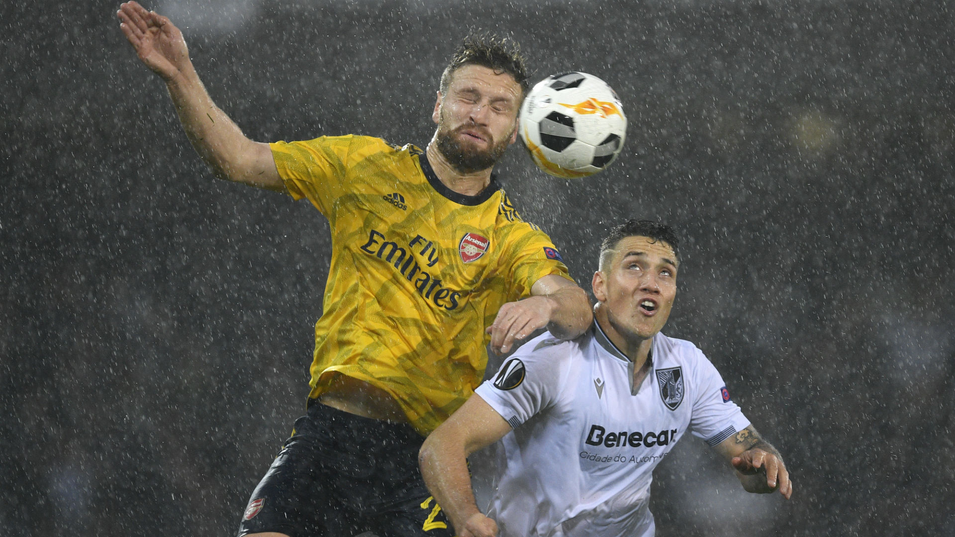 Guimaraes vs. Arsenal - Football Match Report