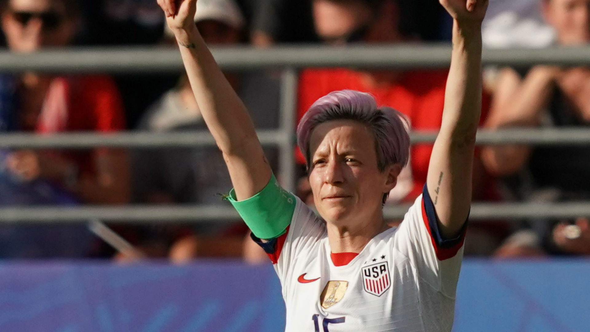 Megan Rapinoe: 'I'm not going to the f—ing White House'