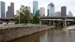 Houston after Hurricane Ike in 2008