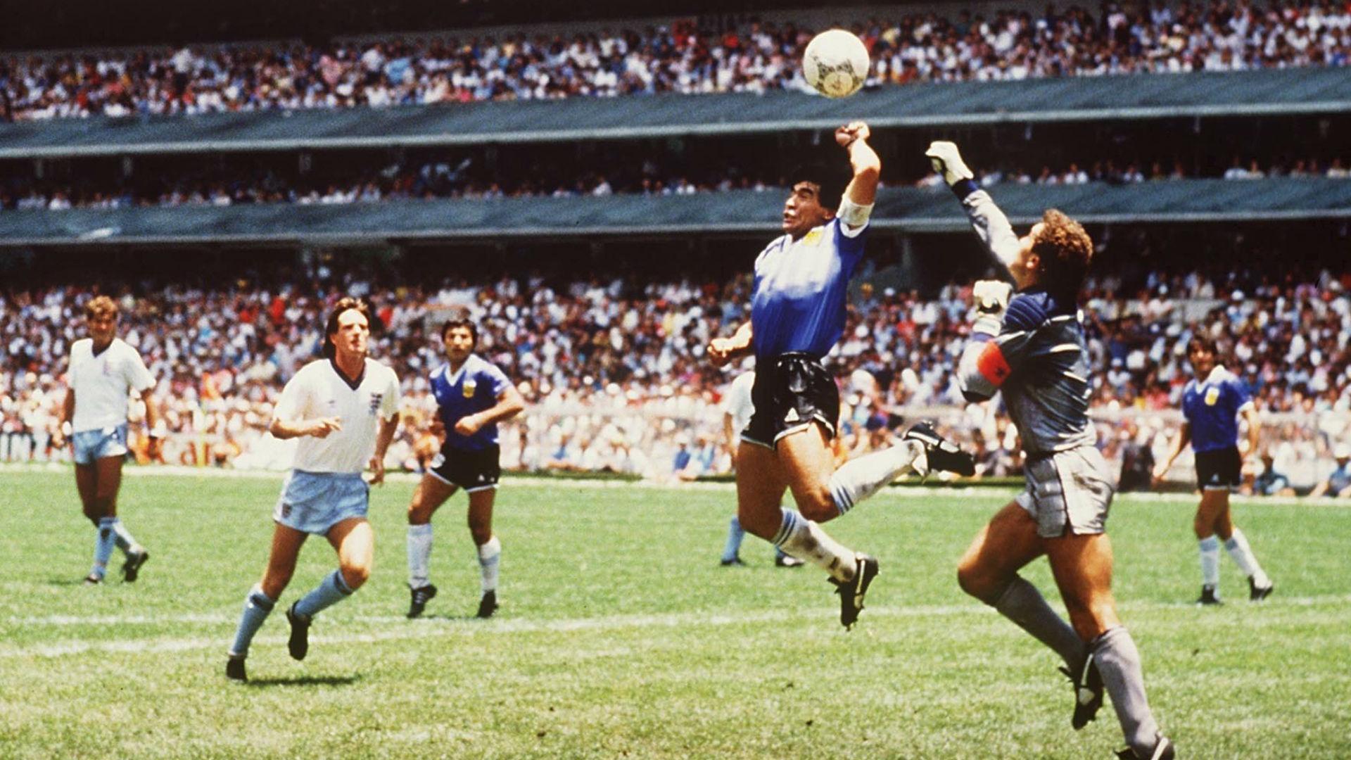 VAR wouldn't have denied my Hand of God!' - Maradona   Goal.com