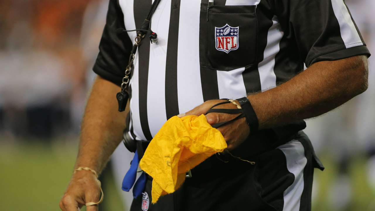 NFL penalty flag
