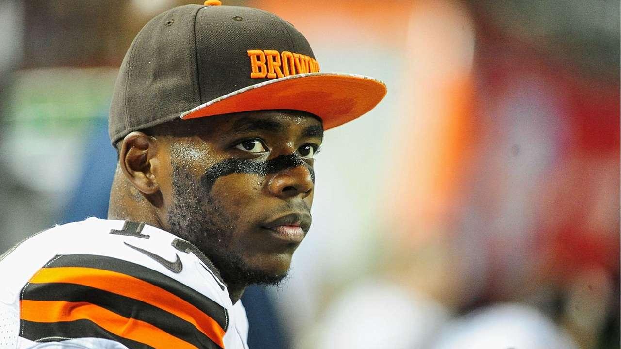 Cleveland Browns wide receiver Josh Gordon - cropped