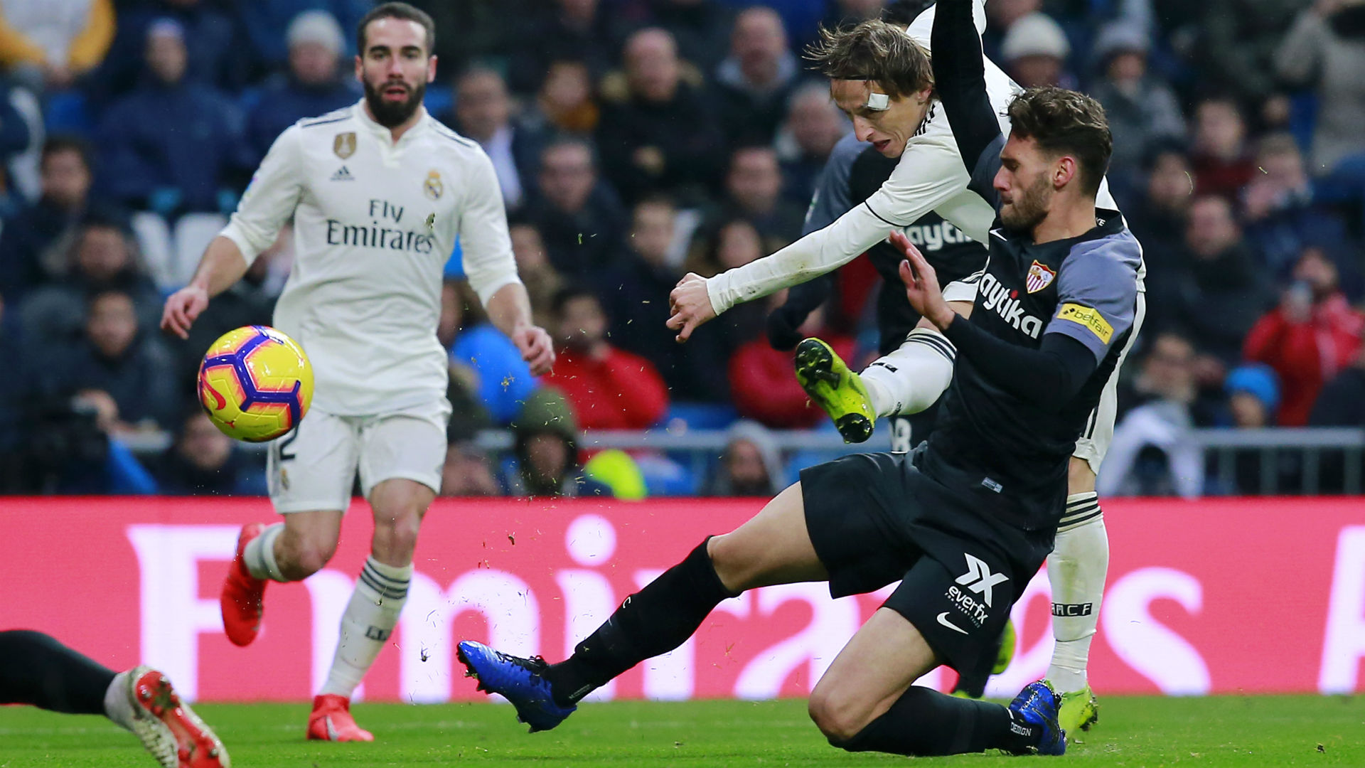 Real Madrid V Sevilla Match Report 19 01 2019 Primera Division