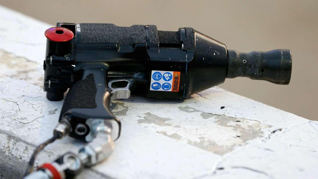 NASCAR air gun