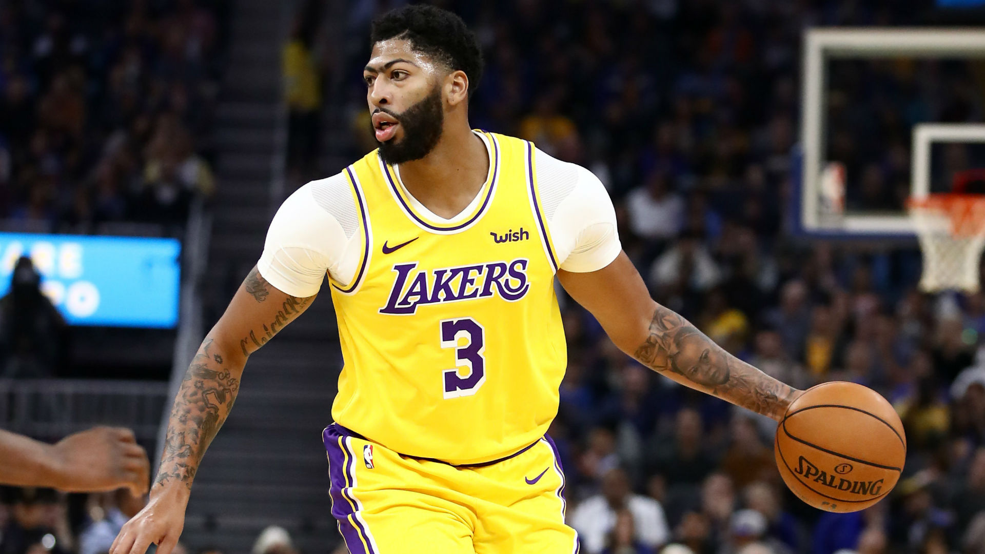 Lakers react to Anthony Davis' impressive preseason debut ...