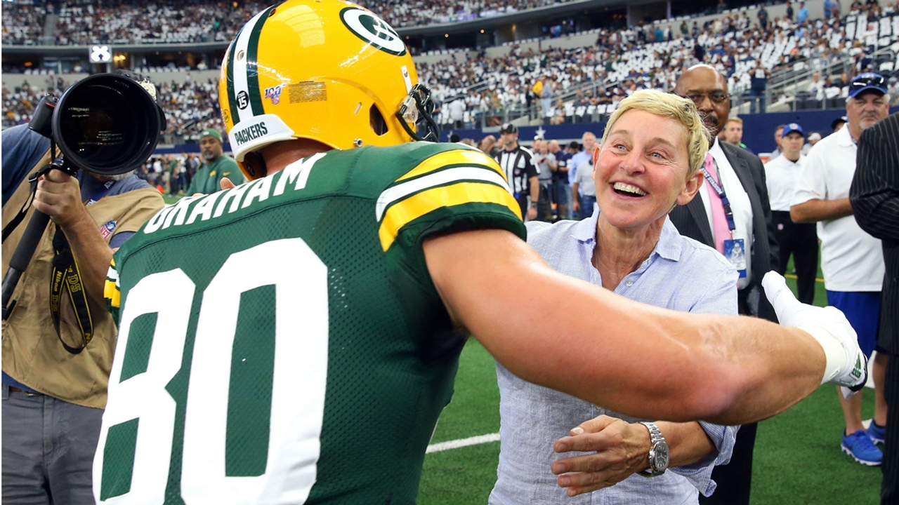 Ellen Explains How She Ended Up Next To George W Bush At Cowboys Game Sporting News