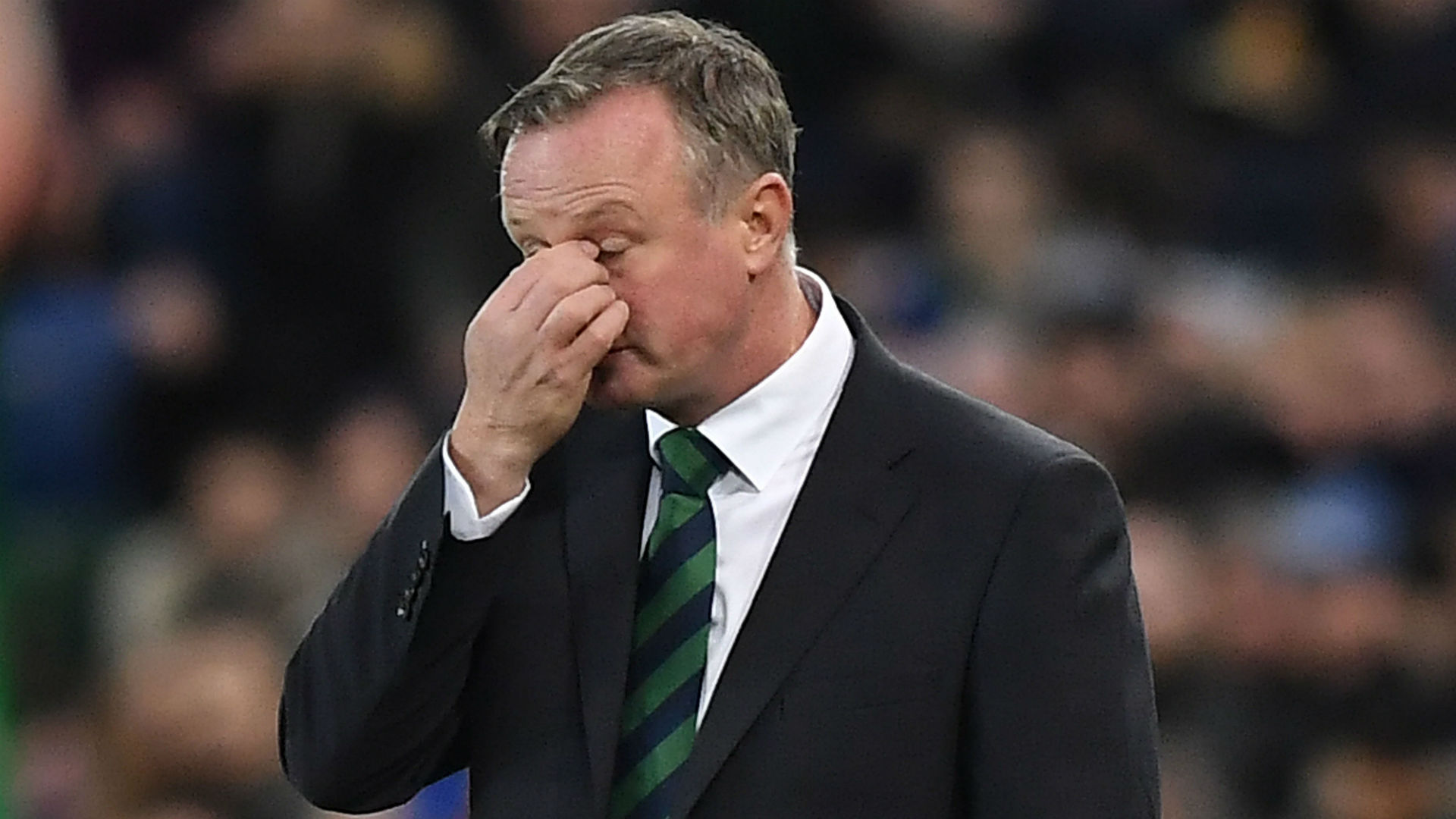 Michael O'Neill steps down from from Northern Ireland job